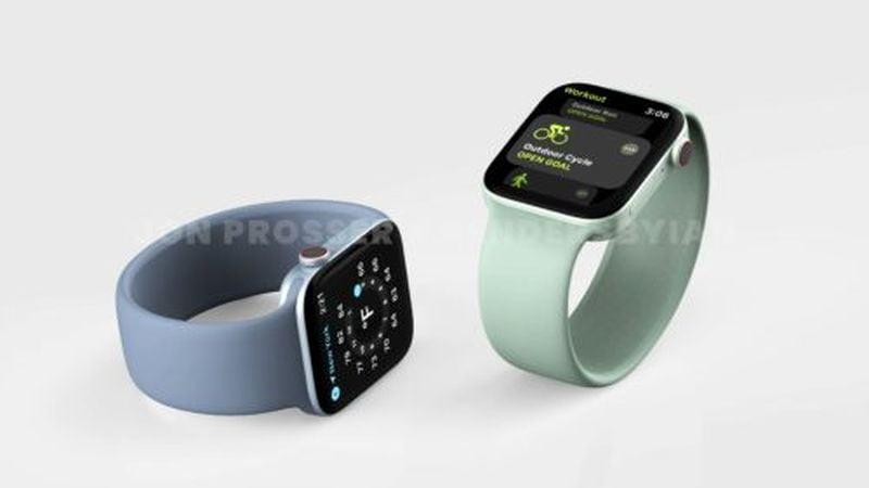 Apple Watch Series 7 sızıntısı yeni tasarımları ve renkleri ortaya koyuyor