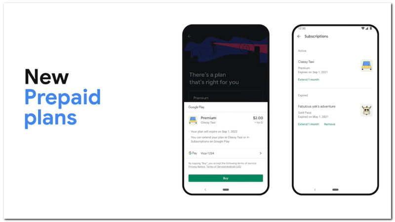 Google Play, premium uygulamalar için bir ön ödemeli plan sistemine sahip olacak