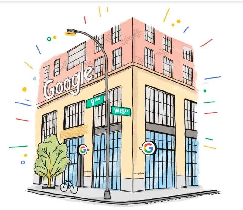 Google bu yaz New York'ta fiziksel bir mağaza açacak