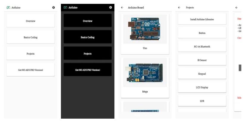 Android'de Arduino öğrenmek için en iyi ücretsiz uygulamalar