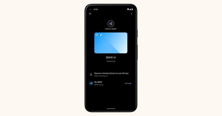 Android 12, akıllı telefonunuzu bir araba anahtarına dönüştürecek