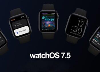 Apple, watchOS 7.5'i tüm kullanıcılar için yayınladı