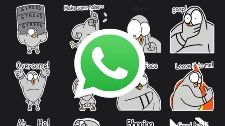 WhatsApp için 6 yeni çıkartma paketi indirilebilirsiniz