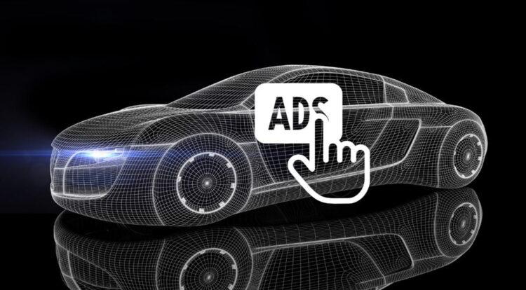 Ford, otomobillerde reklam görüntüleme teknolojisini patentledi