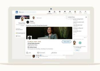 LinkedIn, çevrimiçi etkinlikleri tanıtmak için yeni seçenekler ekliyor