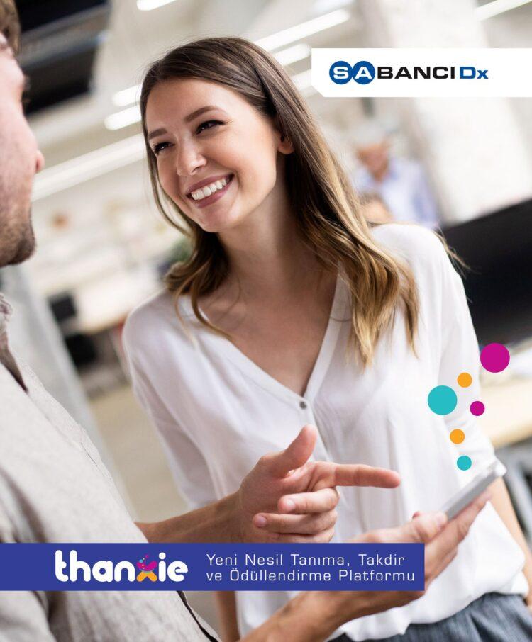 SabancıDx çalışan deneyimi odaklı, tanıma, takdir ve ödüllendirme platformu Thanxie'yi tanıttı