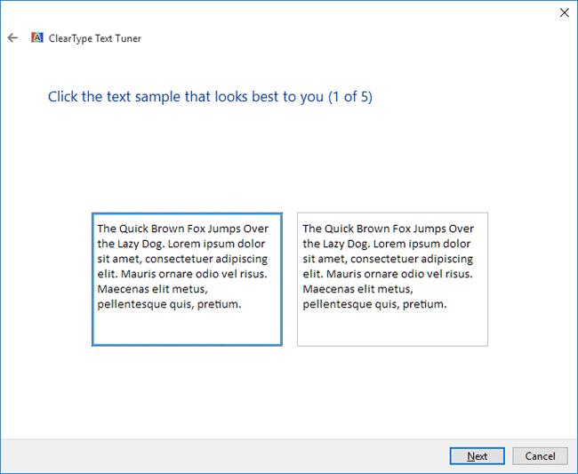 Windows 10'da daha iyi görünen yazı tipleri için ClearType özelliğini açma