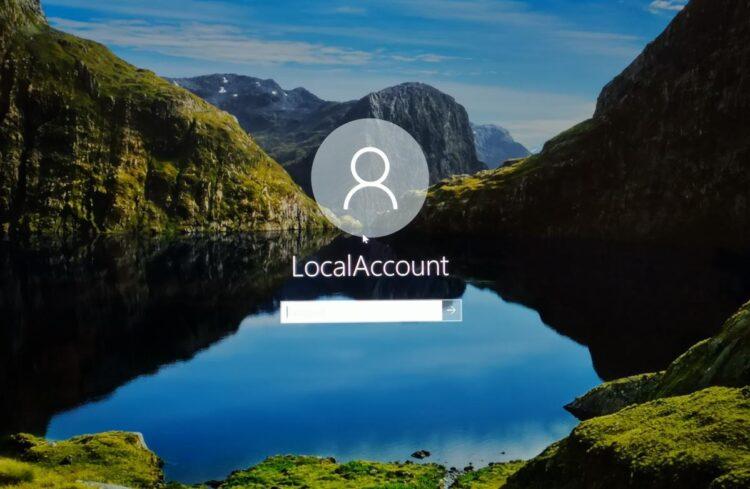 Windows 10'da yerel bir hesap için parola sıfırlama diski oluşturma