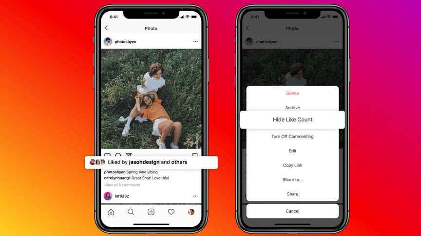 Instagram'da beğeni gizleme nasıl yapılır?