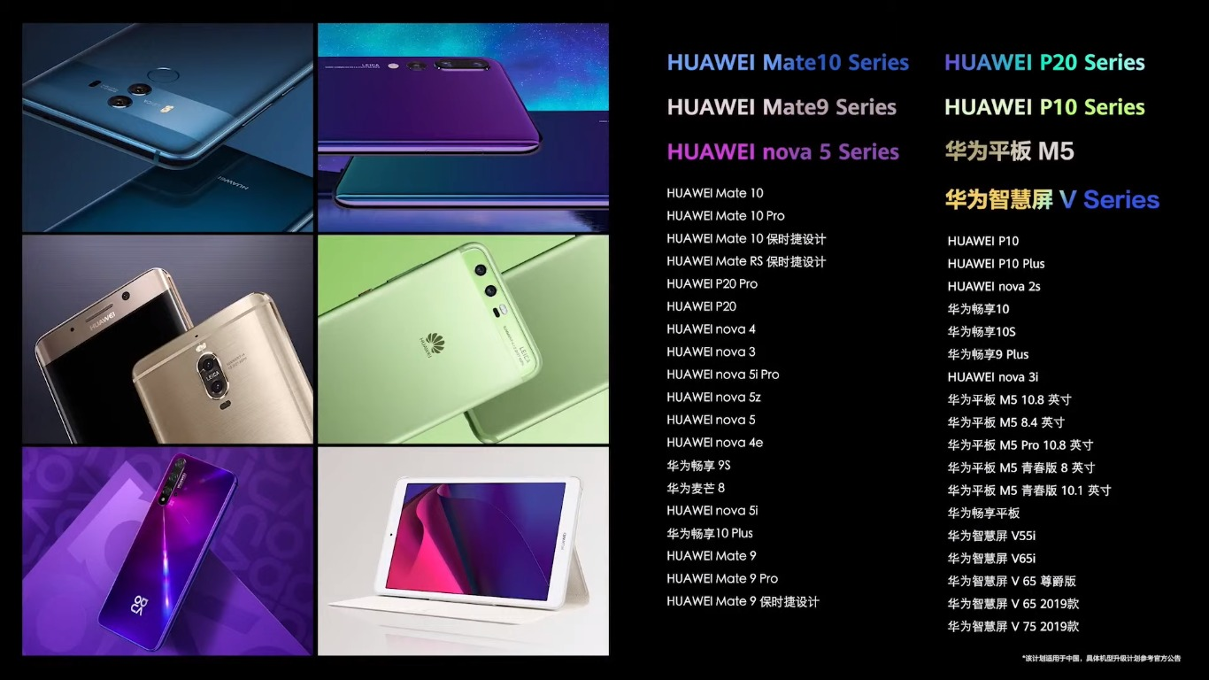 Hangi Huawei telefonlar ve tabletler HarmonyOS güncellemesini alacak?