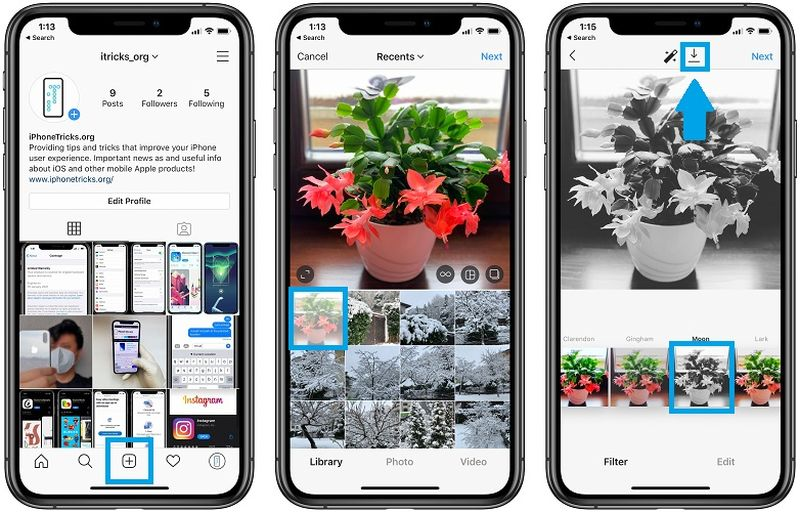 Uygulamaya yüklemeden Instagram fotoğrafları düzenleme nasıl yapılır?
