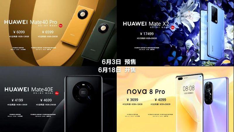Huawei'nin HarmonyOS 2'si zaten 10 milyon cihazda çalışıyor