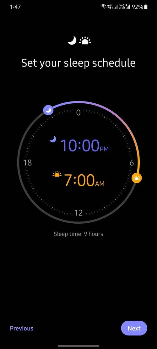 Samsung'da uyku zamanı (uyku modu) ayarlama