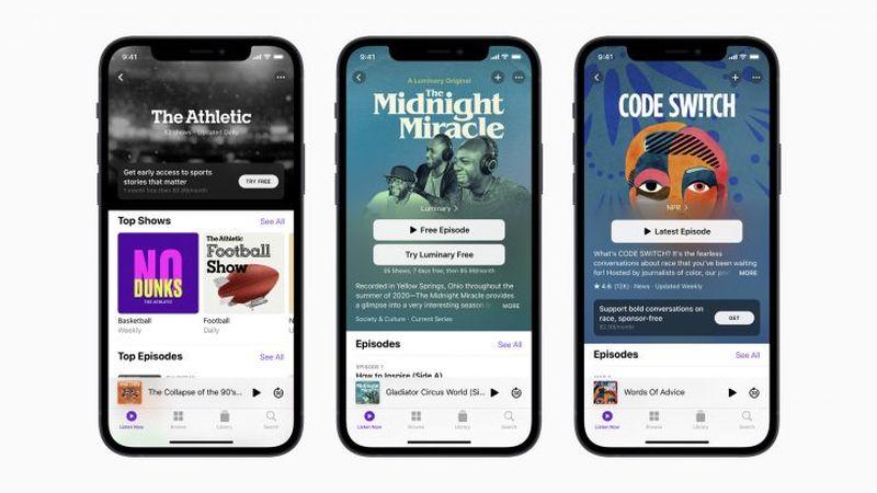 Apple, podcast abonelik kanallarını resmen başlattı