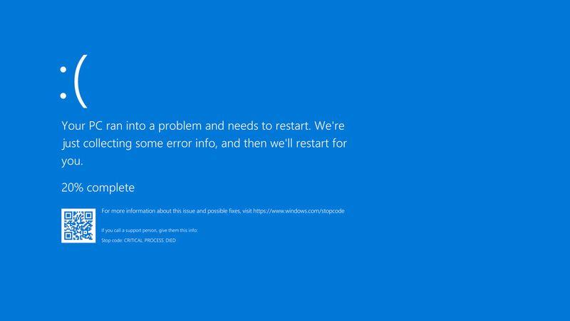 Windows'ta mavi ölüm ekranı (BSOD) nedir, neden ortaya çıkar ve nasıl düzeltilir?