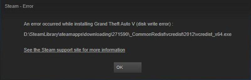Steam Disk Yazma Hatası düzeltme nasıl yapılır?