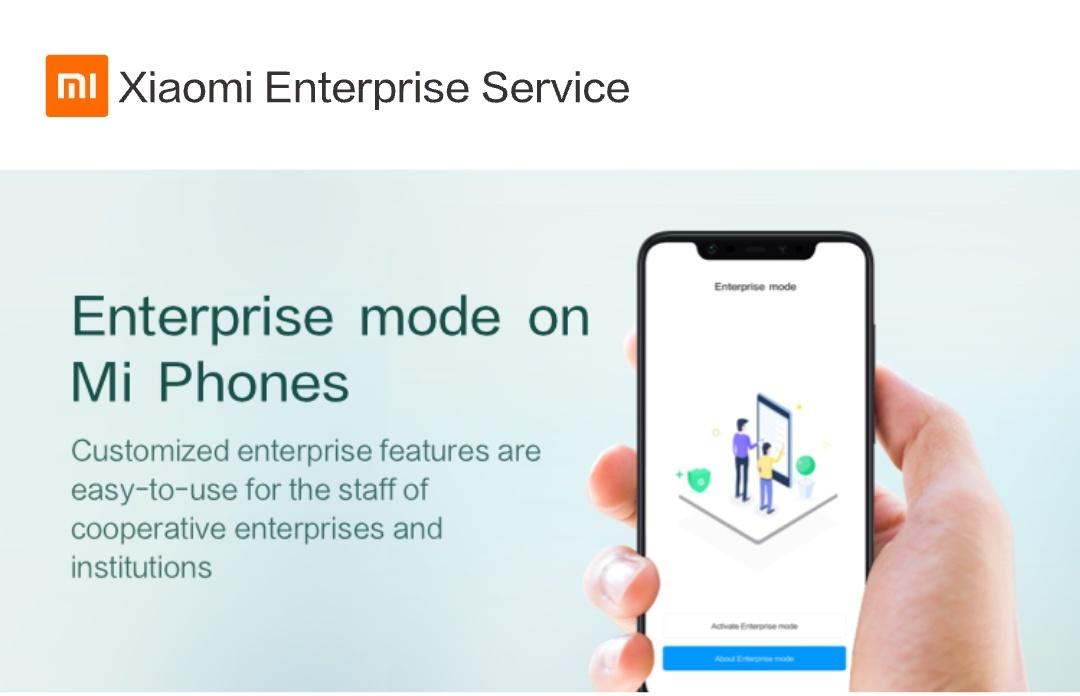 Enterprise Mode ile Xiaomi'nizi iş telefonunuza dönüştürün