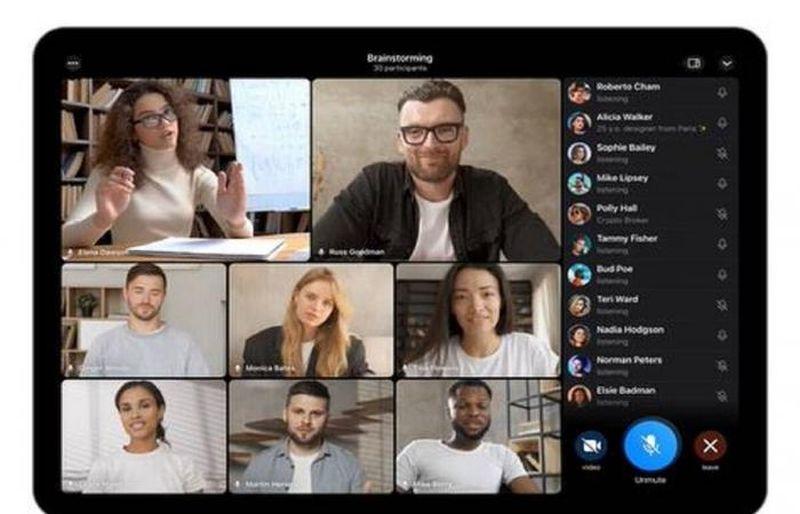 Telegram, 30 kişiye kadar görüntülü grup görüşmeleri, hareketli arka planlar ve daha fazla yeni özellik ile güncelleniyor