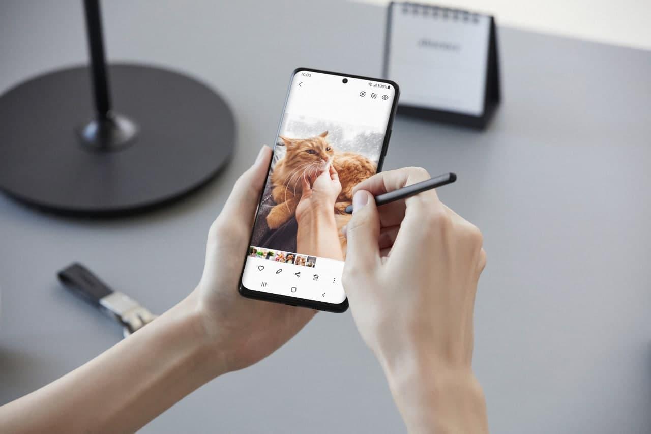 Samsung akıllı telefondaki fotoğrafların kalitesini iyileştirme