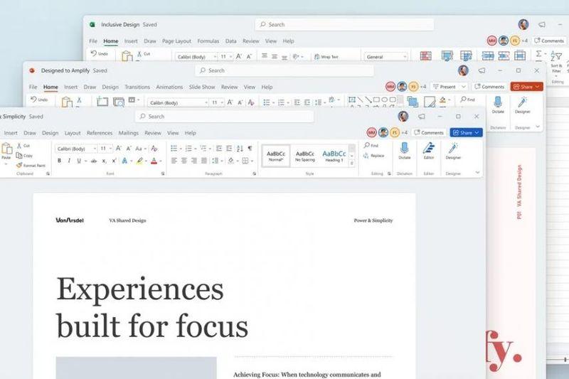 Microsoft sadece Windows 11'e odaklanmıyor: Microsoft Office tamamen yenileniyor