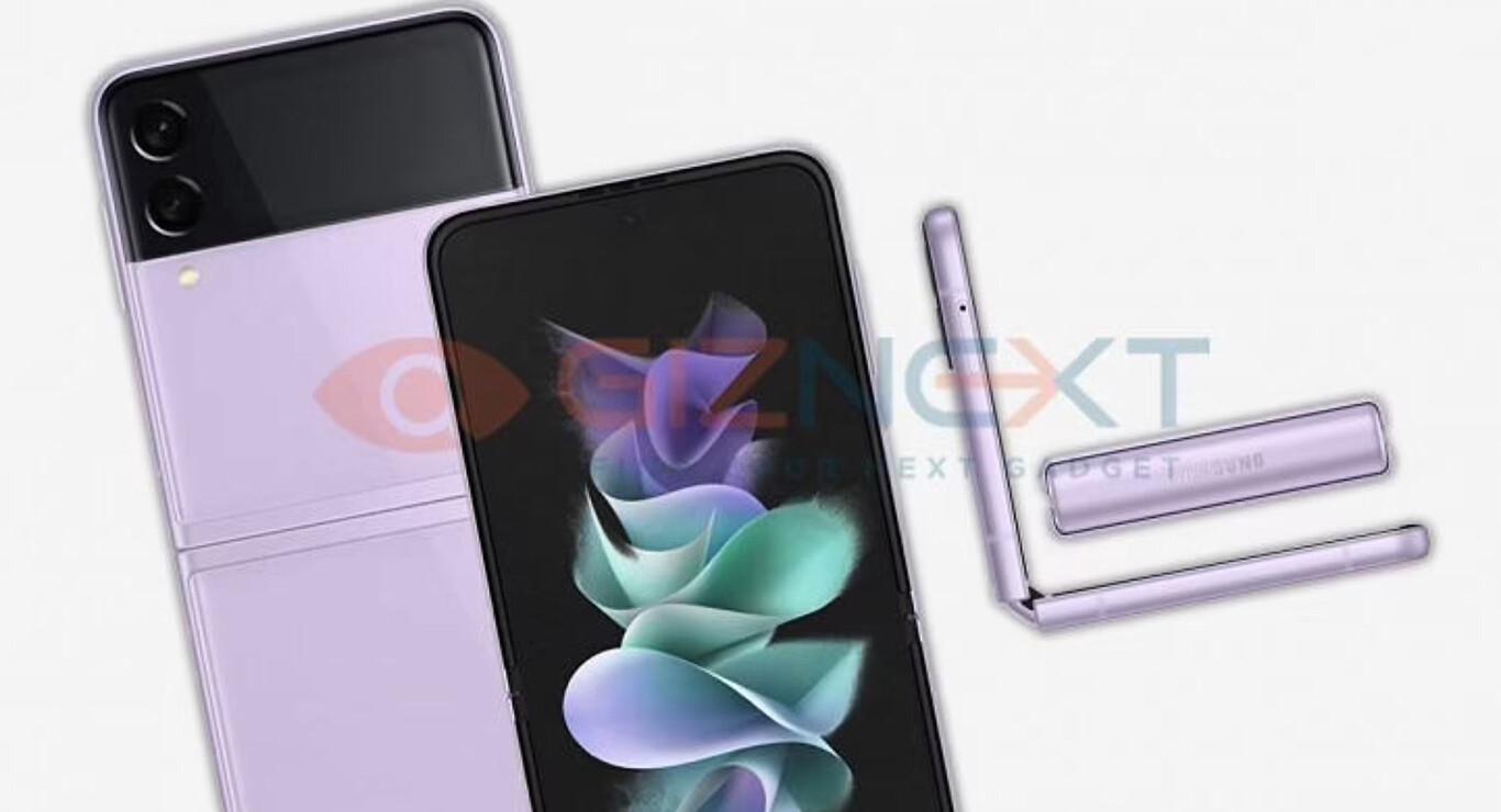 Samsung Galaxy Z Flip 3 sızdırıldı: Özellikler, görseller ve daha fazlası