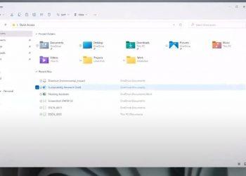 Yeni Windows 11 Dosya Gezgini tanıtıldı