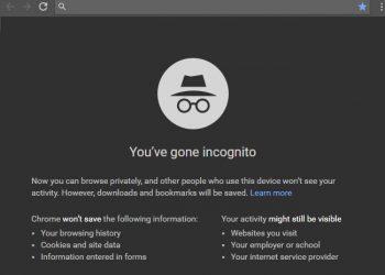 Chrome'un gizli modunda ekran görüntüsü alma