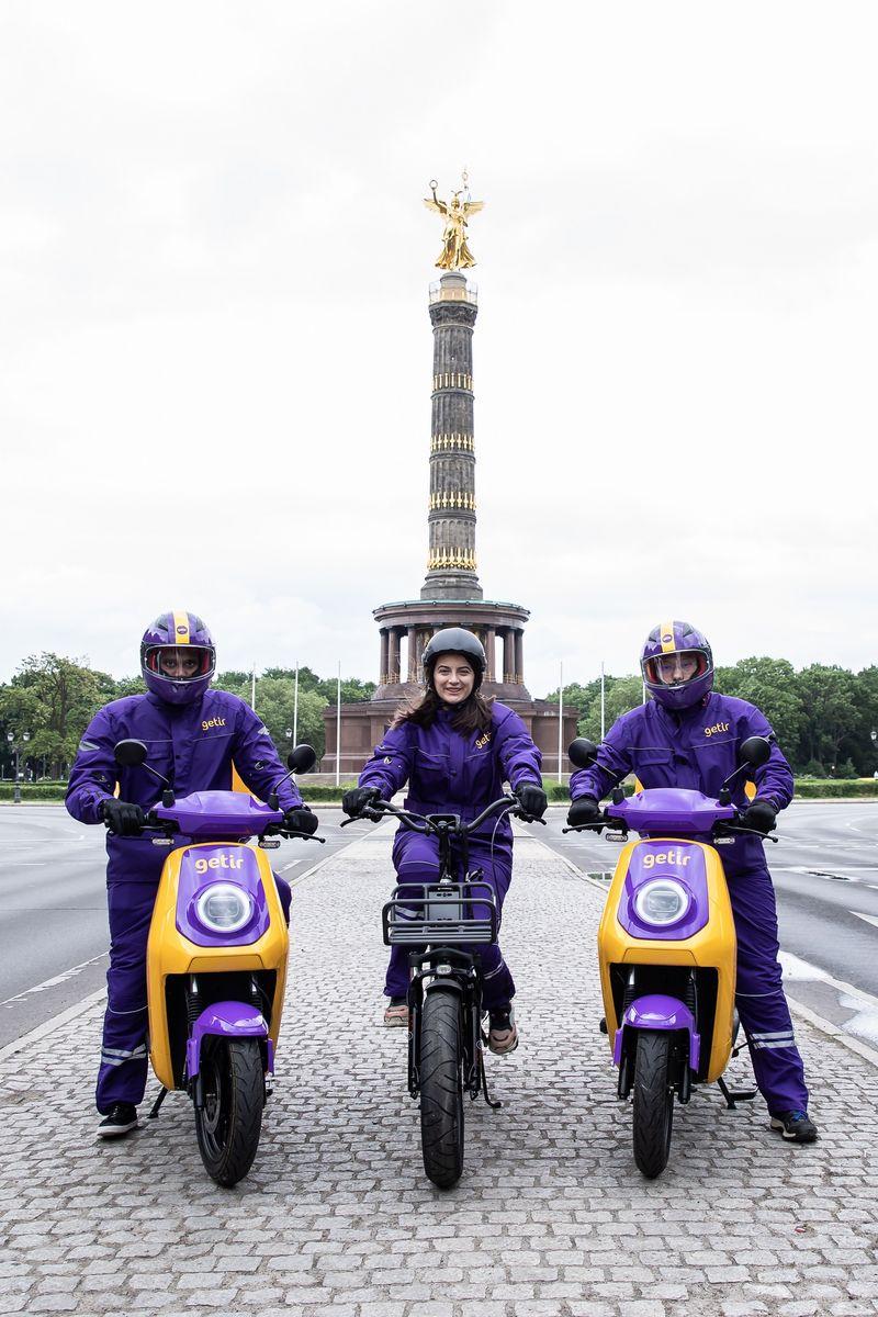 Getir şimdi Berlin ve Paris'te