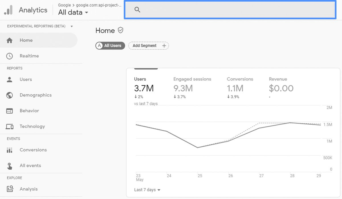 Google Analytics'e birden çok site kaydetme