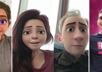 Instagram'da Disney çizgi film tarzı 3D filtresi kullanma