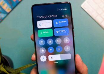 MIUI 12'de Xiaomi durum çubuğu ve kontrol merkezini özelleştirme nasıl yapılır?