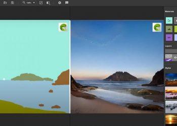 NVIDIA Canvas: Eskizleri gerçek görüntülere dönüştürmek için ücretsiz yapay zeka yazılımı