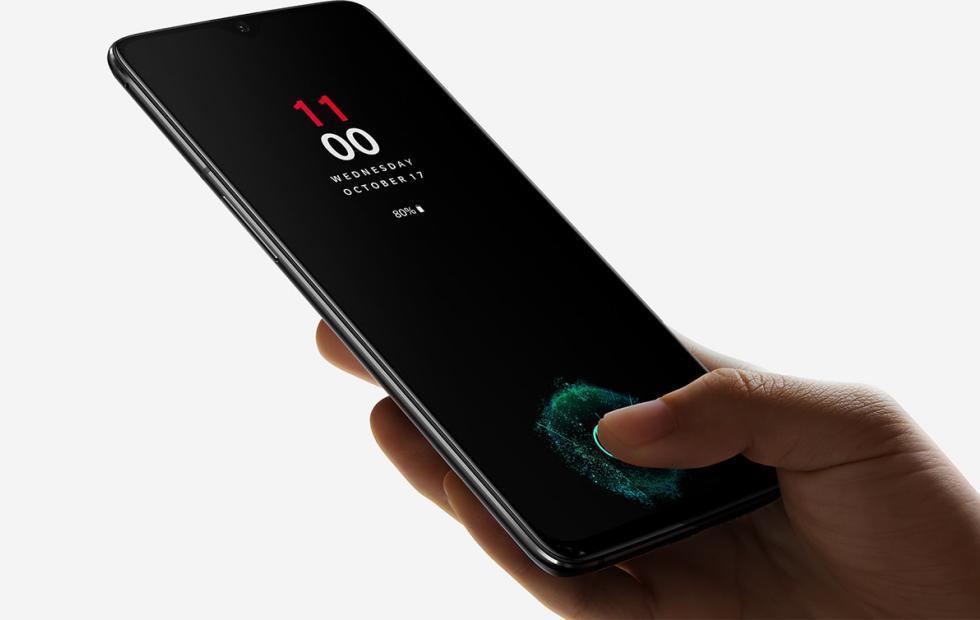 OnePlus akıllı telefonlarda parmak izi tarayıcı kullanarak uygulamaları başlatma