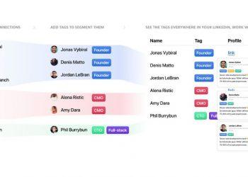 TidyTag: LinkedIn kişilerini etiketlerle sıralamak için uzantı