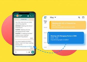 WhatsApp'ta Google Takvim toplantıları nasıl alınır?