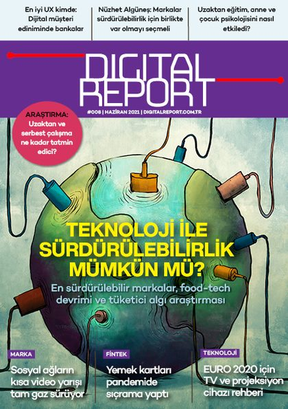 Digital Report 8. sayı (Haziran 2021)