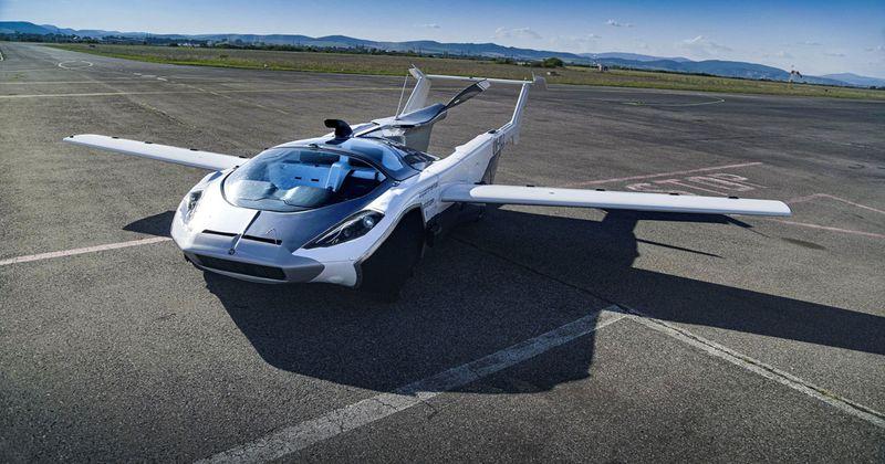 İlk şehirlerarası uçan araba testi tamamlandı