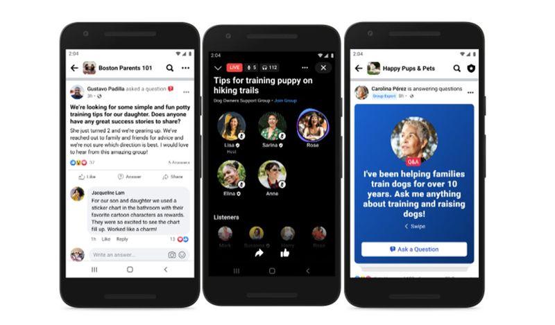 Facebook artık gruplar için uzmanlar seçmemize izin verecek