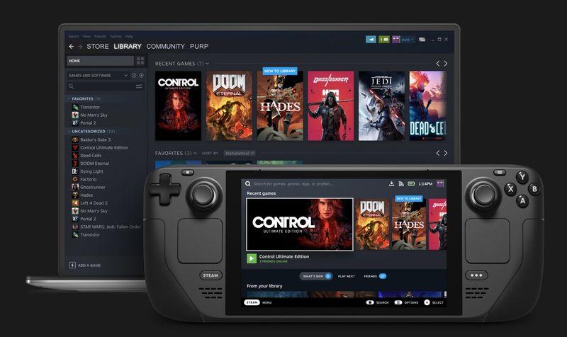 Valve, PC oyunları için kendi Nintendo Switch'i olan Steam Deck'i duyurdu