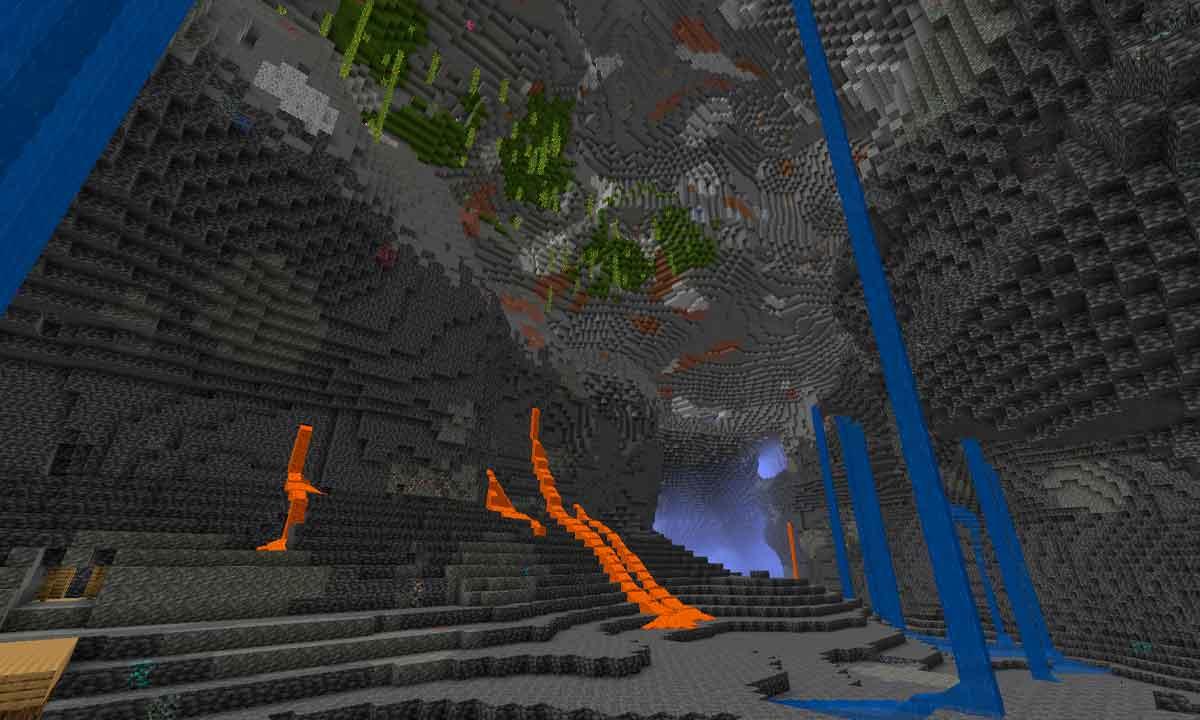 Minecraft 1.18'in deneysel anlık görüntüleri sonunda ortaya çıktı