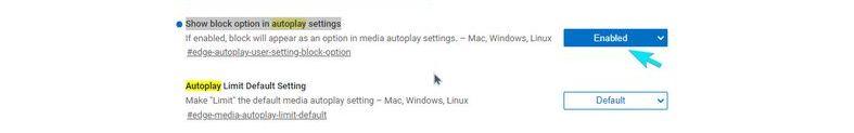 Microsoft Edge'in yeni sürümü, otomatik video oynatmayı sınırlandırıyor