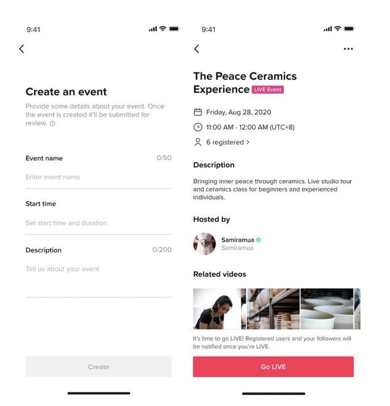 TikTok yeni özellikler sunuyor: Canlı yayın planlama, moderatörler, yorum filtreleme ve daha fazlası