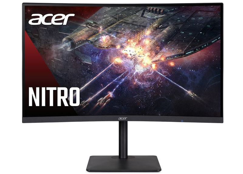 Acer, kavisli oyun monitörü serisi Nitro XZ3'ün yeni modeli Nitro XZ273UP'yi tanıttı