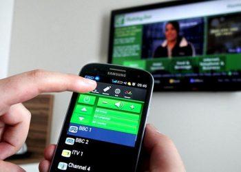 Akıllı telefonu TV uzaktan kumandası olarak kullanma