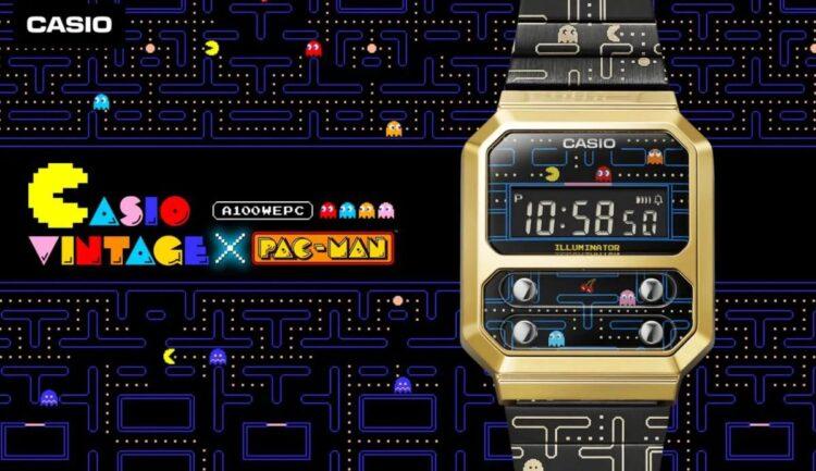 Casio 80'ler esintili PAC-MAN saatini piyasaya sürdü