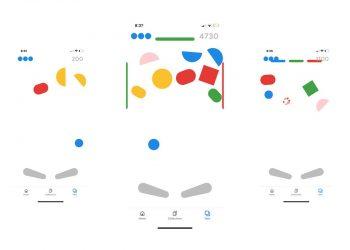 Google uygulaması ile pinball oynama