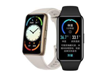 Huawei, NFC ve vücut ısısı sensörlü Band 6 Pro'yu duyurdu