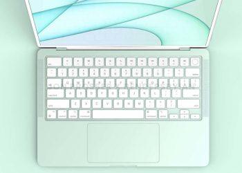 Renkli MacBook Air, 2022'de yeni bir M2 çipiyle gelecek