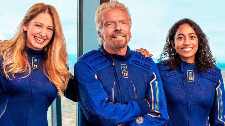 Richard Branson VSS Unity ile uzay seyahati hayalini gerçeğe dönüştürdü
