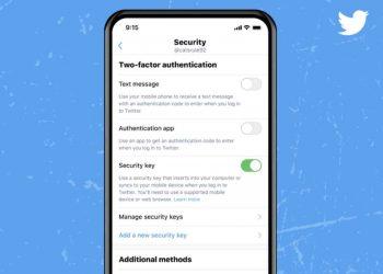 Twitter tek 2FA kimlik doğrulama için güvenlik anahtarlarının kullanılmasına izin verecek